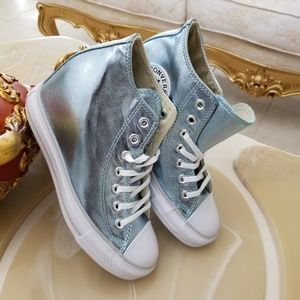 Converse Chuck Taylor All Star Lux Metallic Wedge